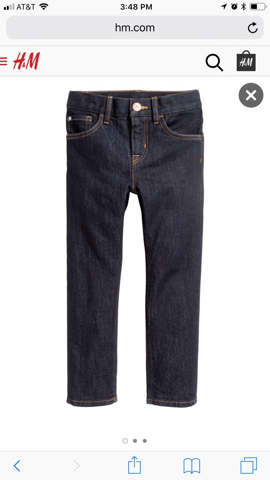 H und m skinny jeans