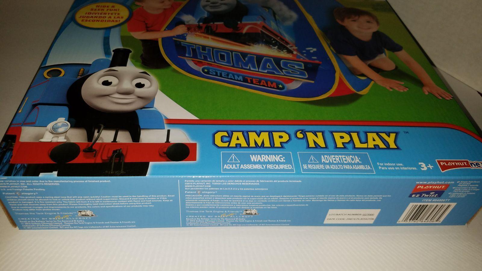 Thomas u0026 Friends Pop Up Tent & Thomas u0026 Friends Pop Up Tent - Mercari: The Selling App