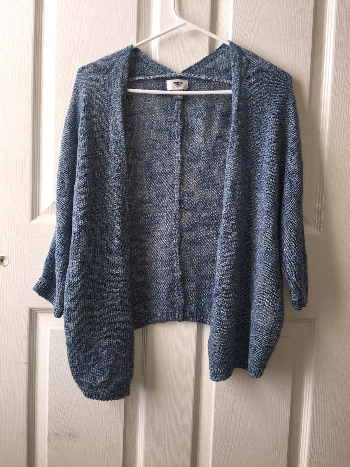 OLD NAVY BLUE CARDIGAN SIZE S - Mercari: BUY & SELL THINGS YOU LOVE
