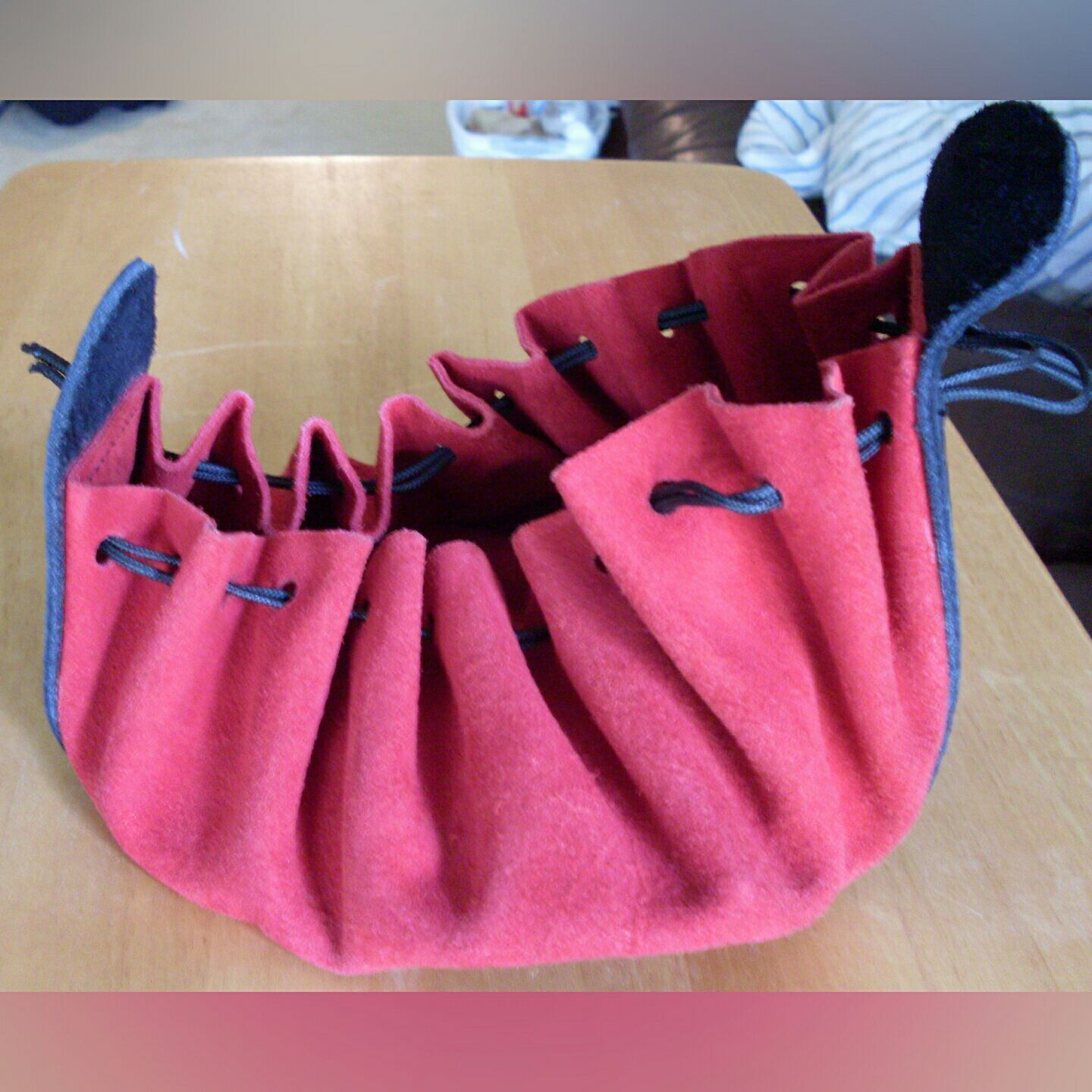 Beautiful leather handmade bag