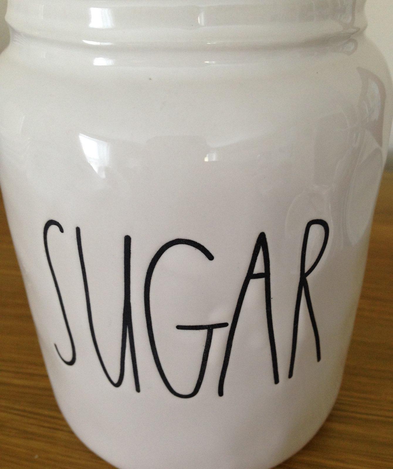 Rae Dunn Original Baby Sugar Canister