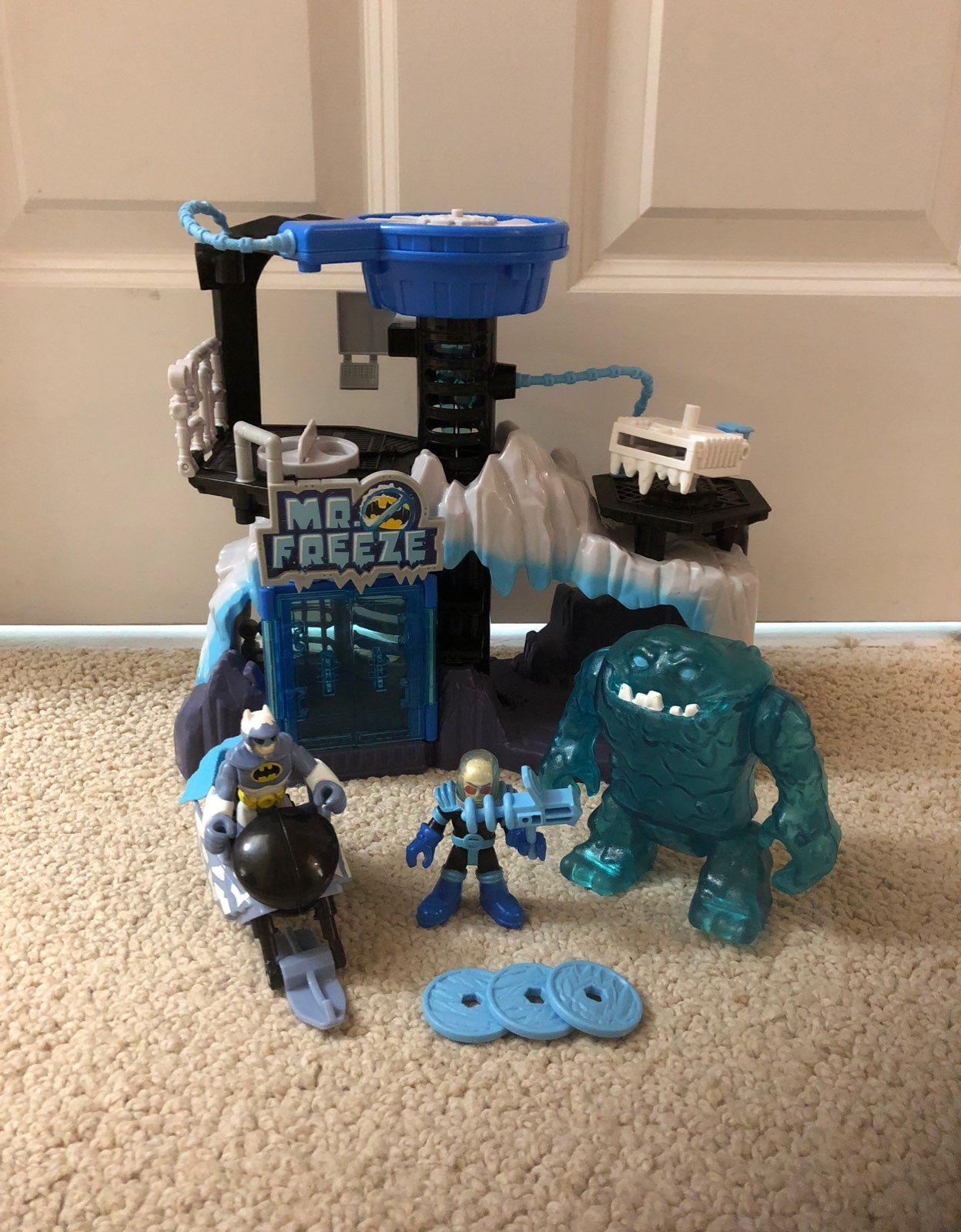 Imaginext Mr. Freeze Gift Set - Mercari: BUY & SELL THINGS YOU LOVE