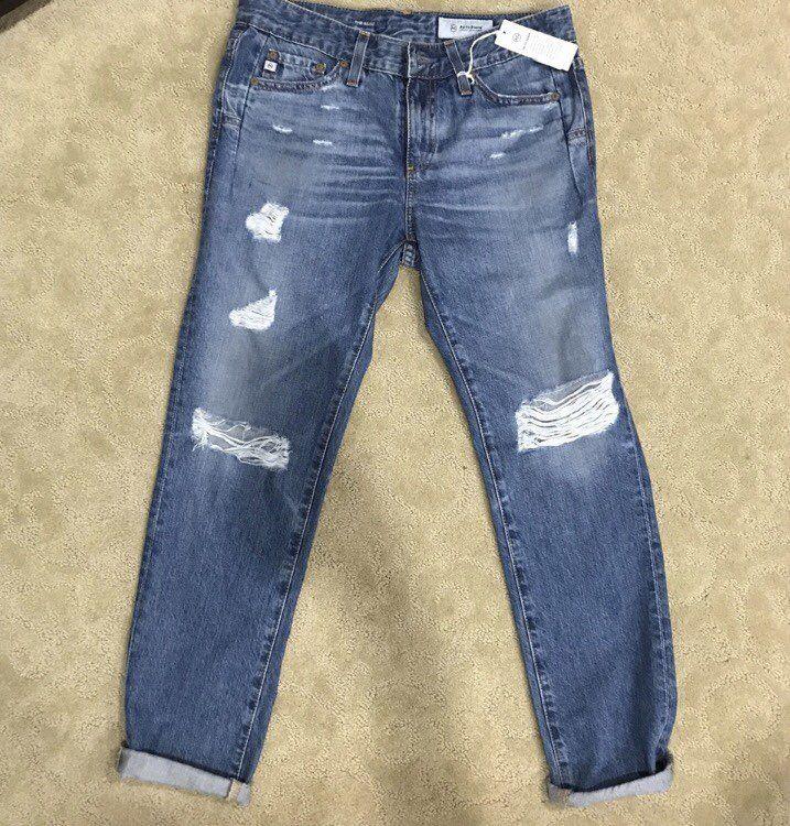 NWT AG The Beau Slouchy Skinny Jeans