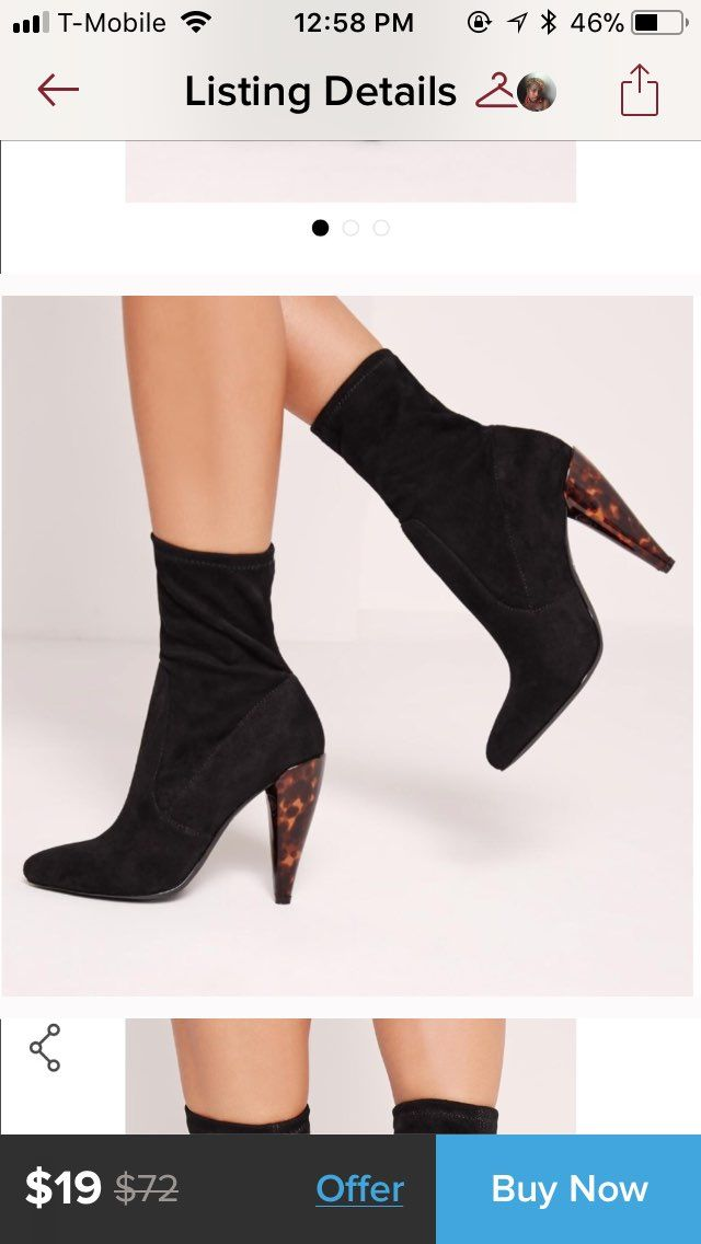 MISSGUIDED SOCK BOOTIES