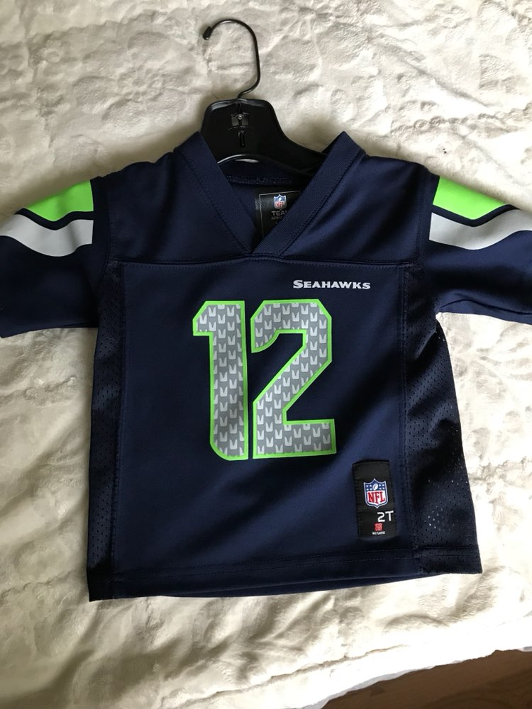 uk availability 70173 4db5e Toddler 2T Seahawks Jersey - Mercari: BUY & SELL THINGS YOU LOVE