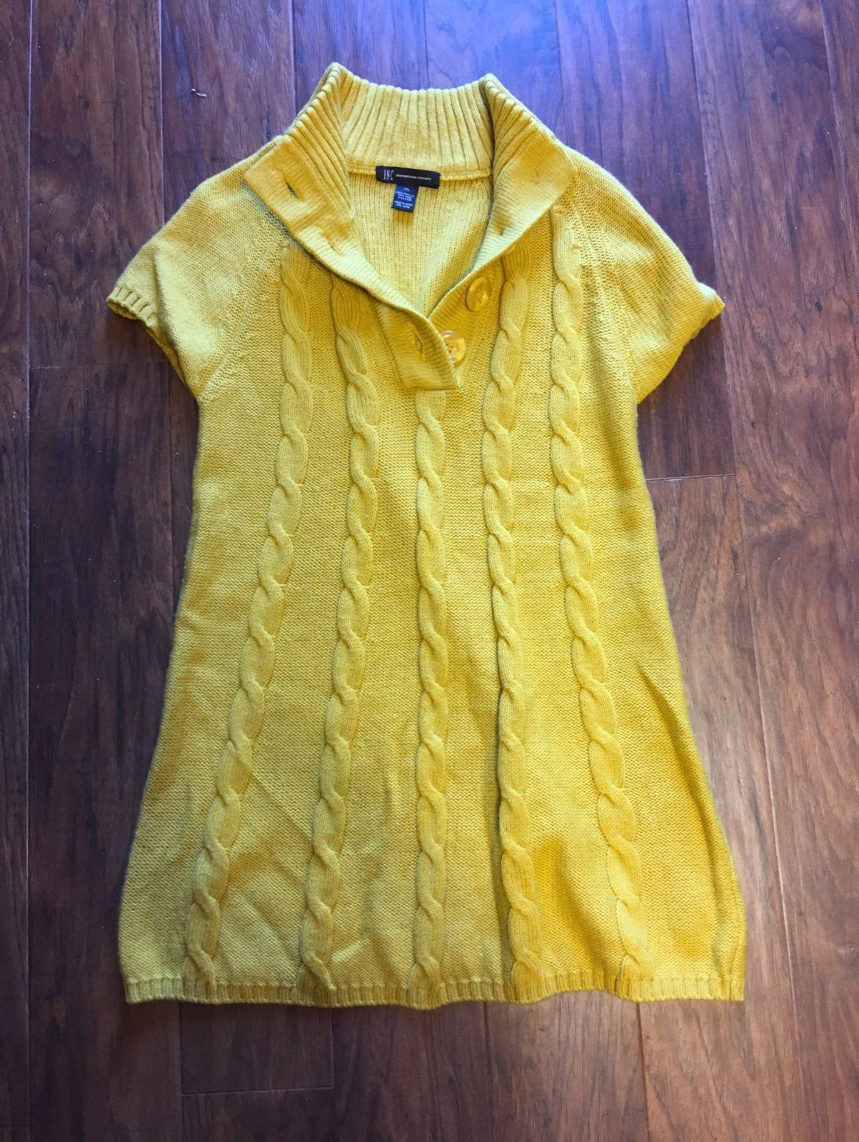 Mustard Yellow Sweater Dress - Mercari: BUY & SELL THINGS YOU LOVE