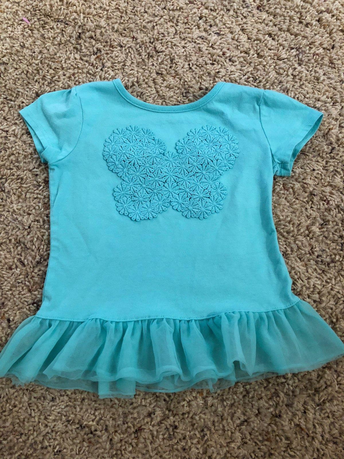 4T Butterfly Shirt