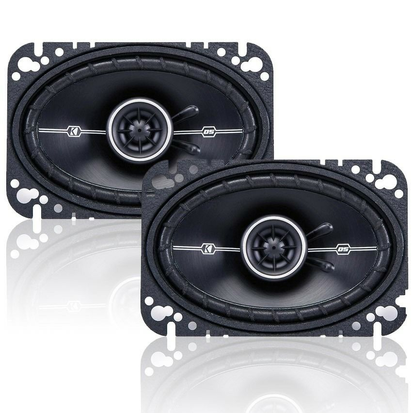 "KICKER DSC460 4X6"" 240W 2WAY CAR SPEAKER"