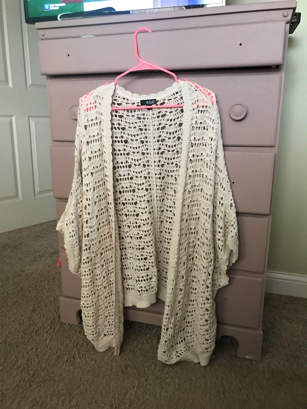 Oversized crochet cardigan 1x2x 18 plus mercari buy sell oversized crochet cardigan 1x2x 18 plus bankloansurffo Choice Image