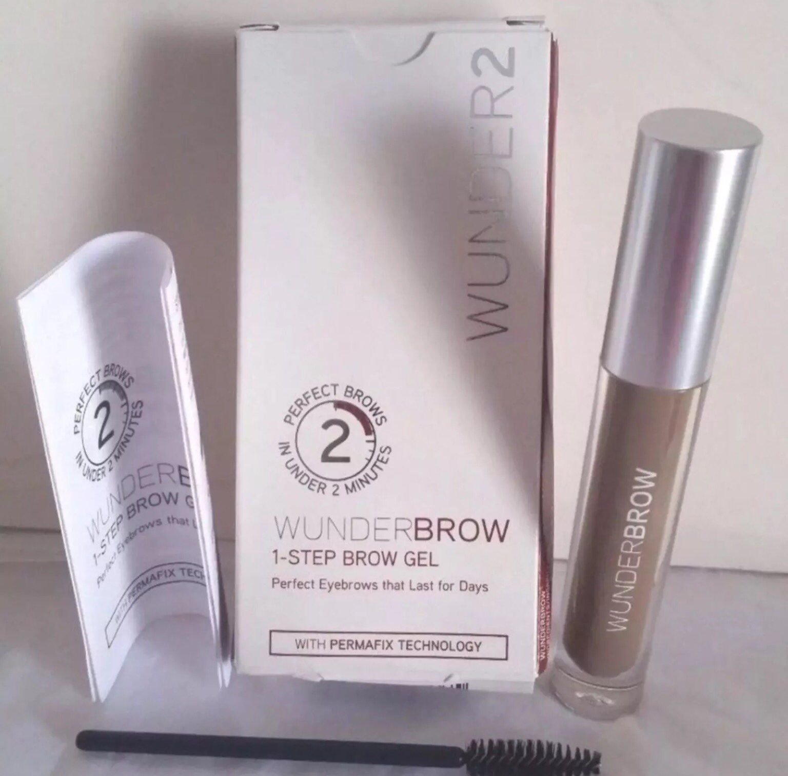 Wunderbrow wunder2 Brunette eyebrows NEW