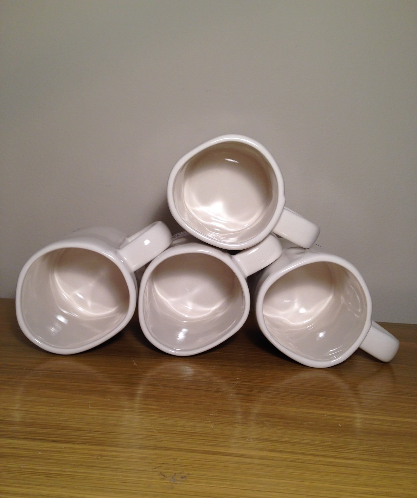 Rae Dunn Number Mugs 1. 2. 3. 4.