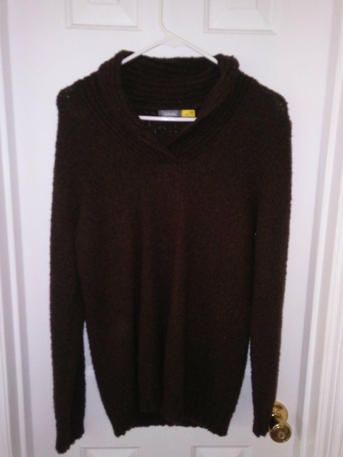 Cabelas chocolate brown sweater - Mercari: BUY & SELL THINGS YOU LOVE