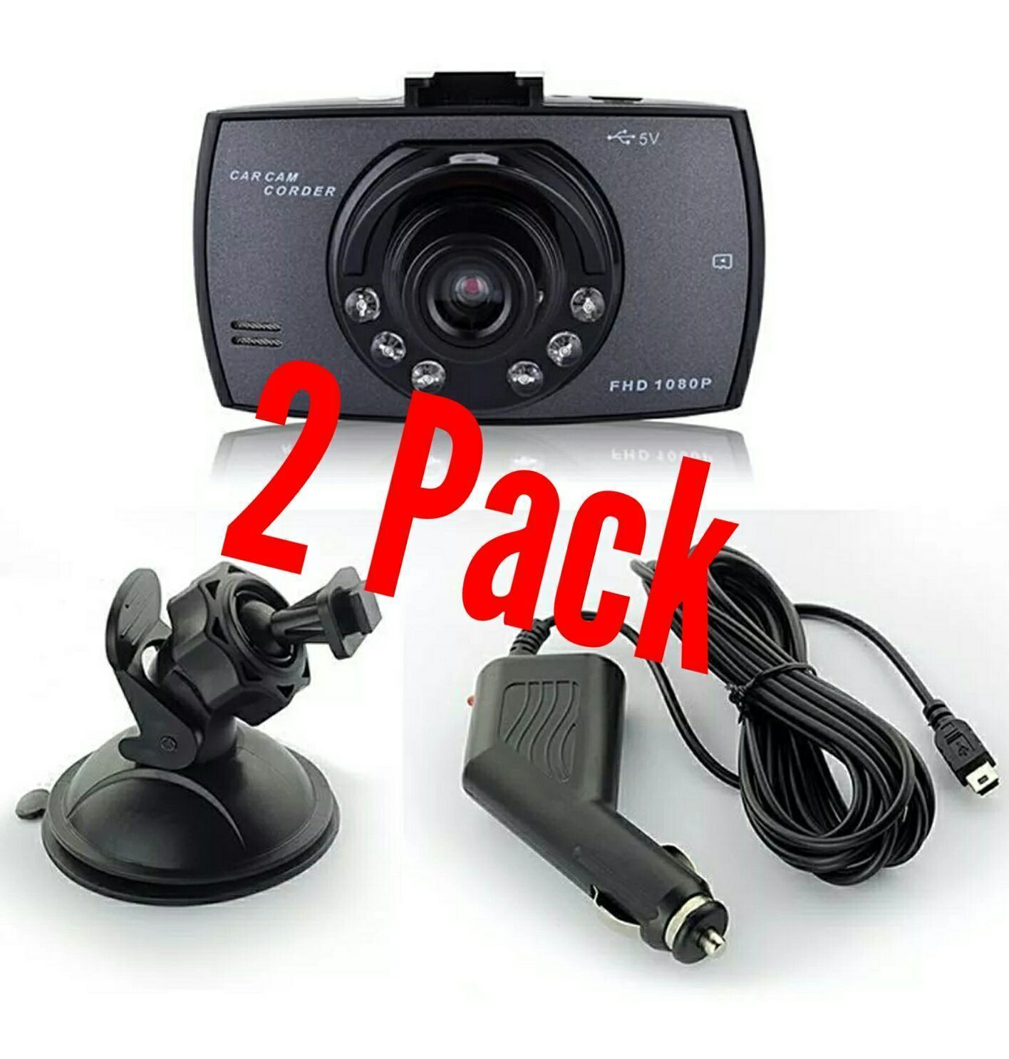 Two dash board cams - Great for a gift