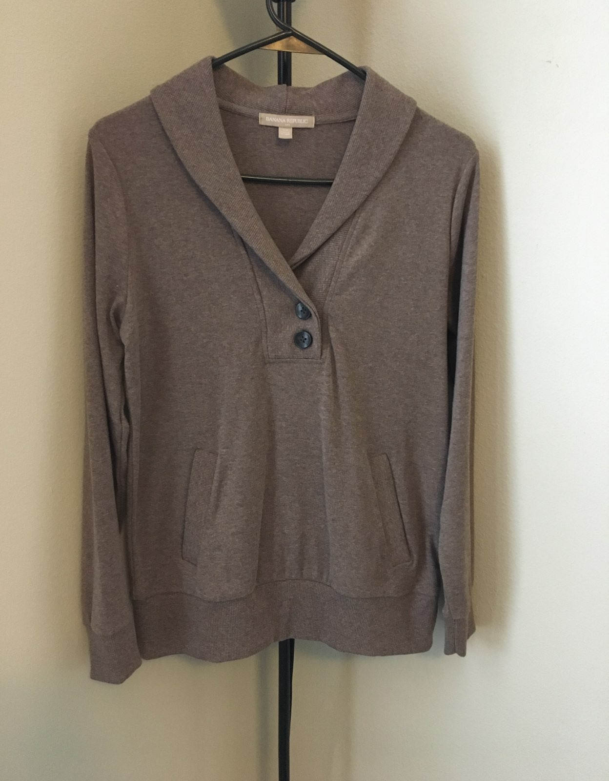 banana republic Heather Brown sweater - Mercari: BUY & SELL THINGS ...