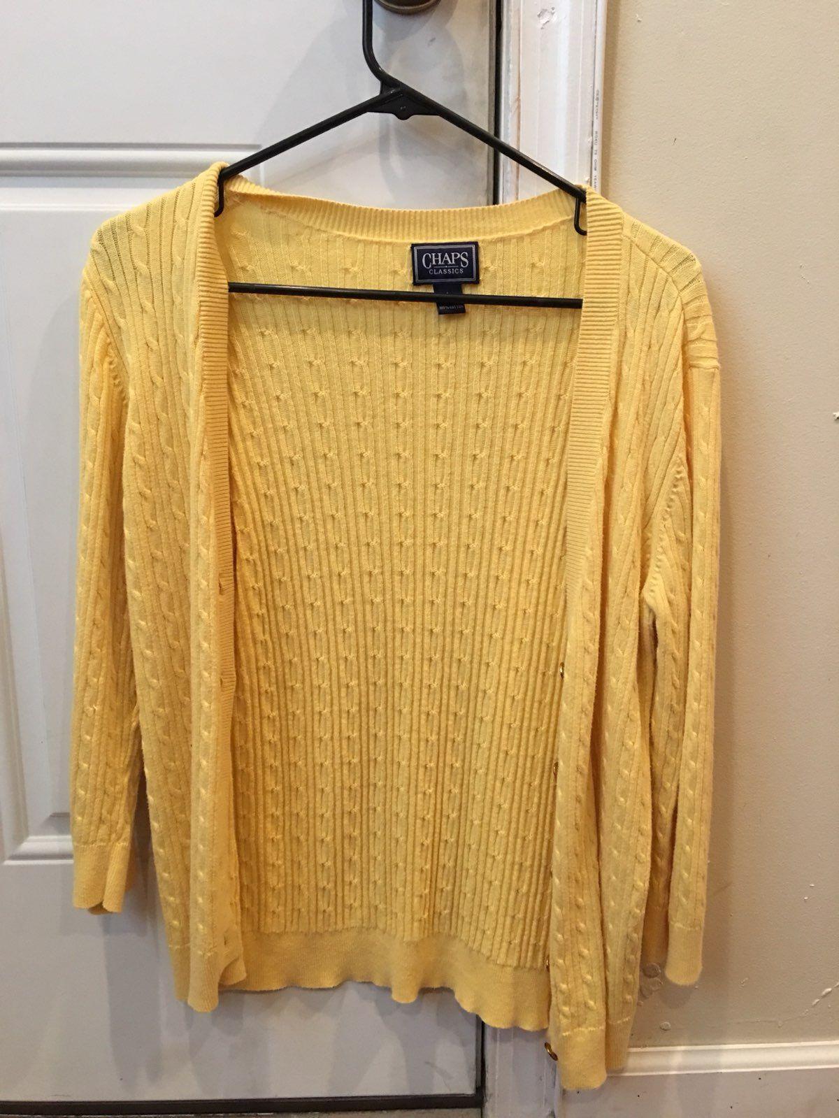 Yellow Cardigan - Mercari: BUY & SELL THINGS YOU LOVE