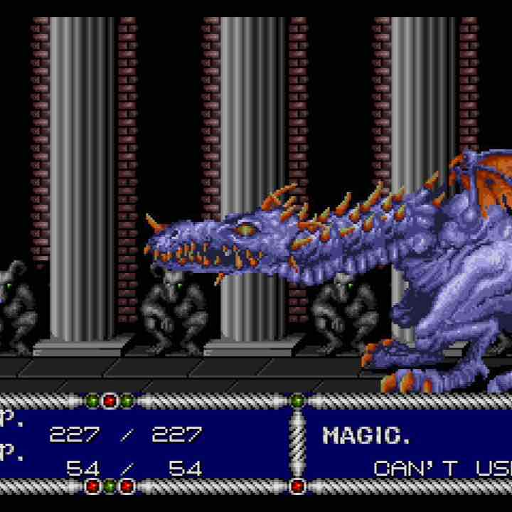 SWORD OF VERMILLION Sega Genesis RPG