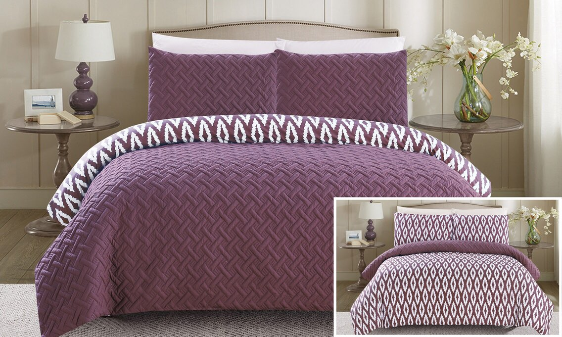 Chic Home Reversible Comforter Set