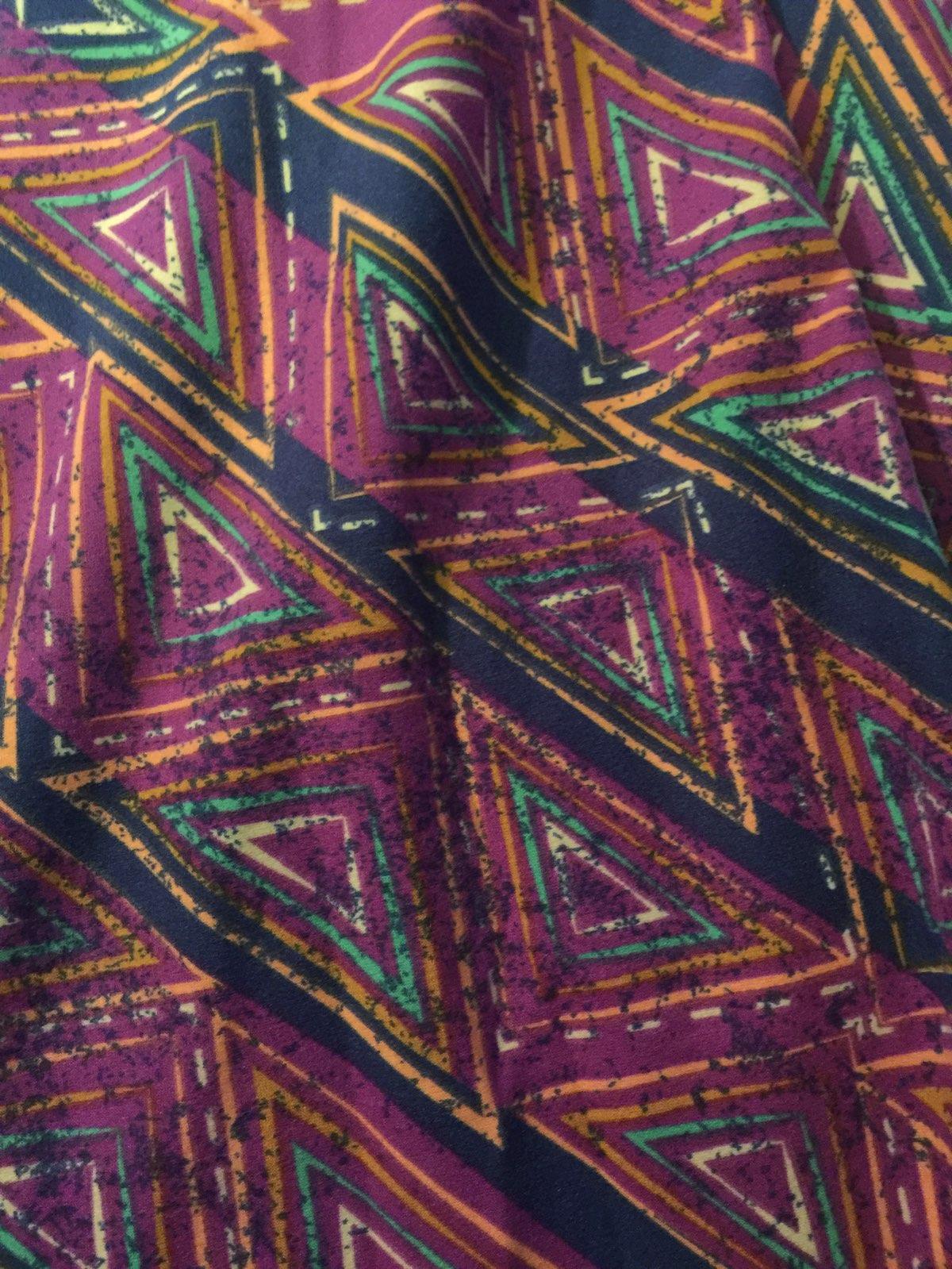 4f0f9aee9f4c7 LuLaRoe TC Leggings Purple Blue Triangle LuLaRoe TC Leggings Purple Blue  Triangle