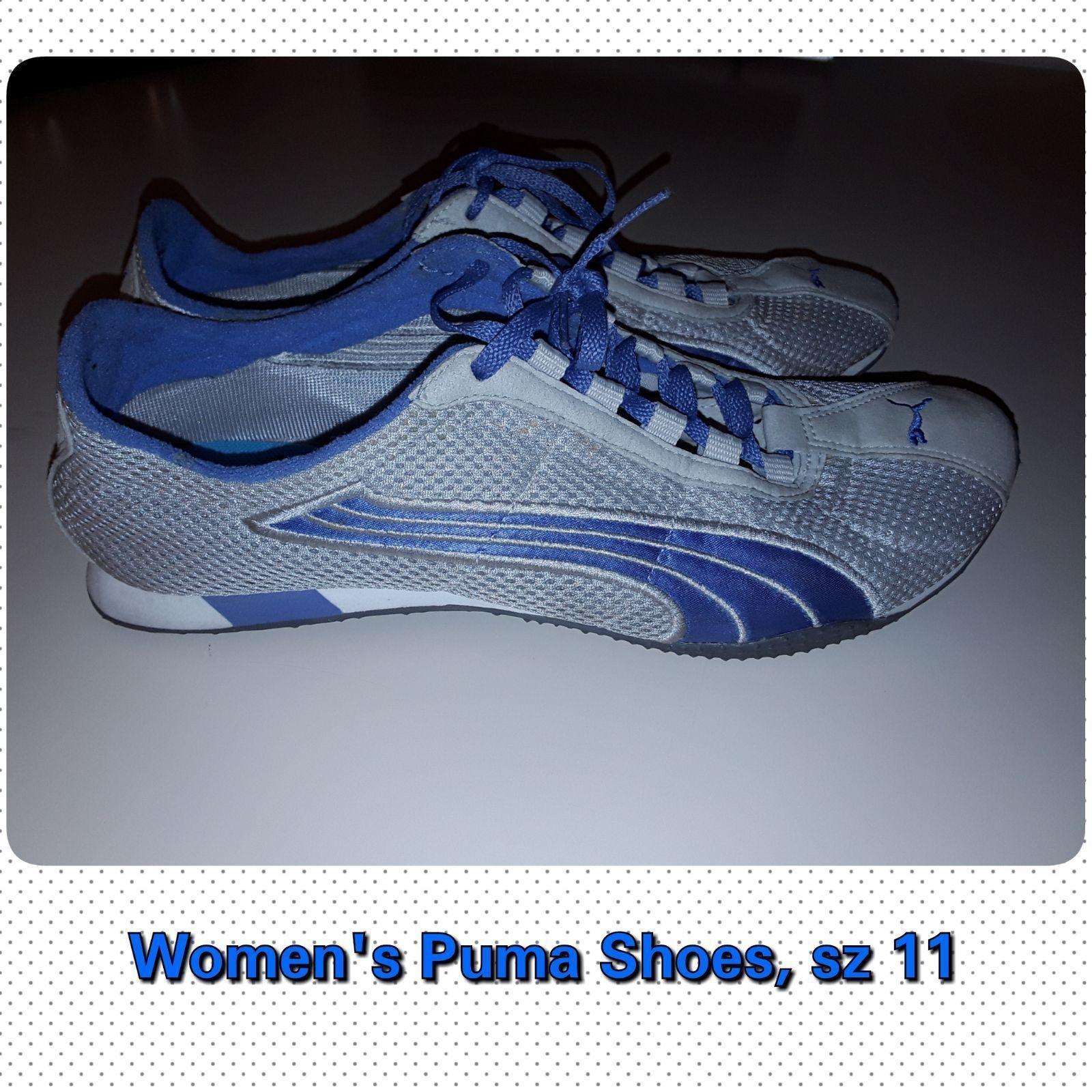 Women's blue mesh Puma Shoes