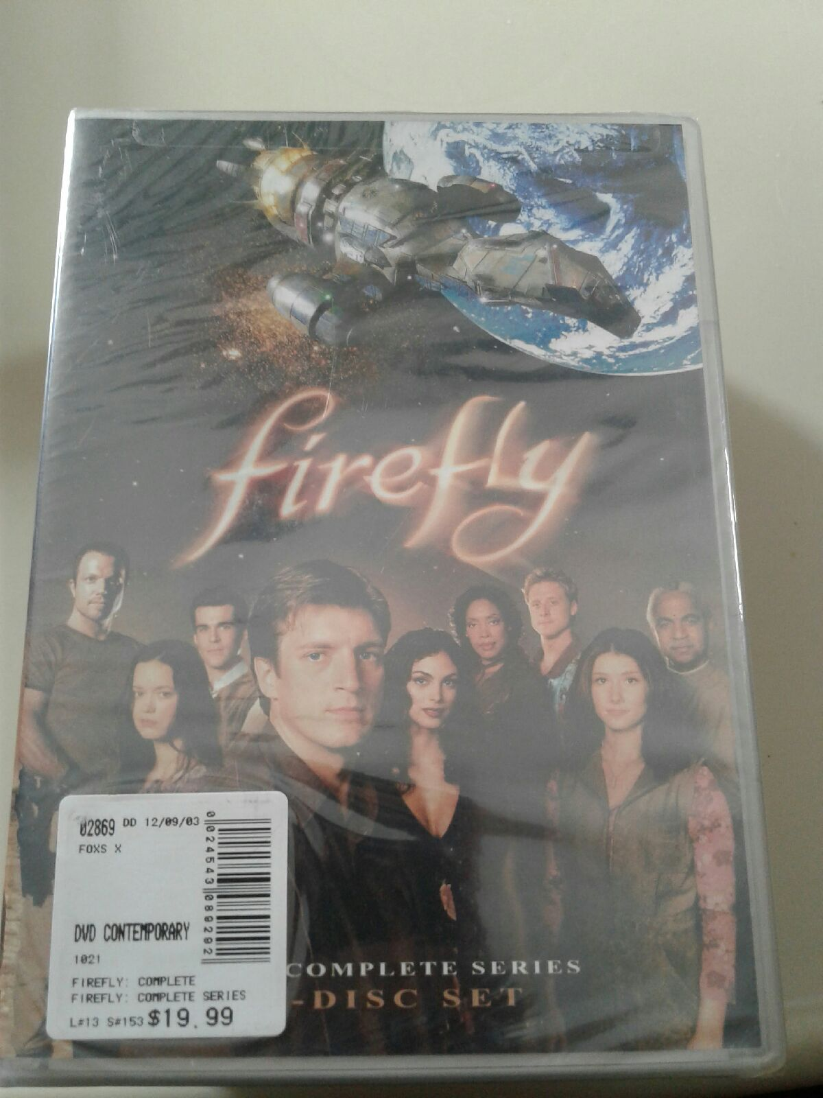 Firefly 4 disc Complete Series sealed