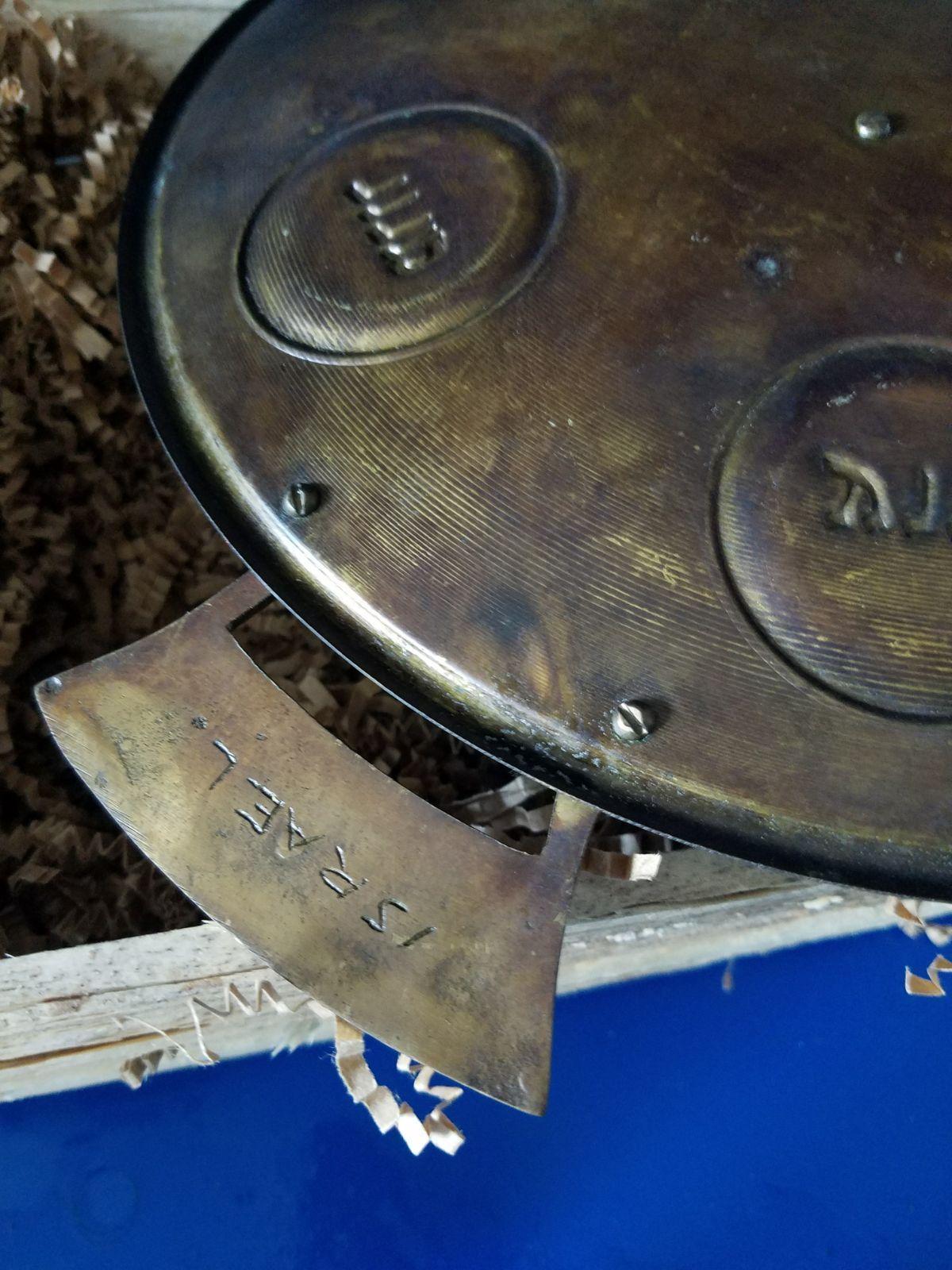 Menorah and Sedar Plate