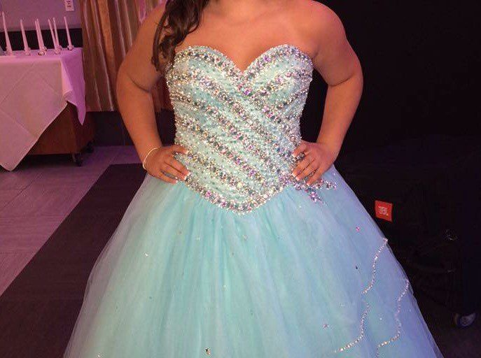 Tiffany Blue Ball Gown - Mercari: BUY & SELL THINGS YOU LOVE