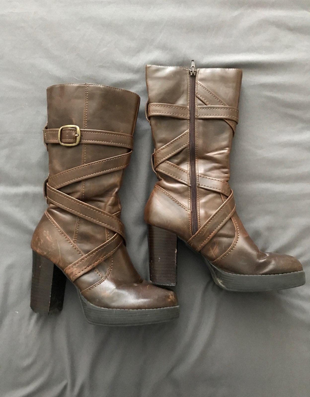 Victoria's Secret Brown Boots
