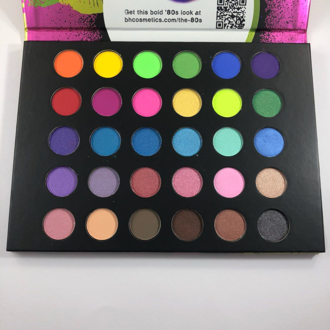 Bh Cosmetics Eyes on the 80s  Palette