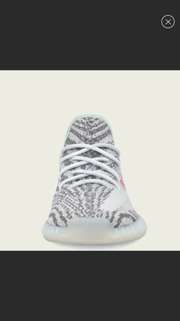 Adidas Yeezy Blue Tint Shoes