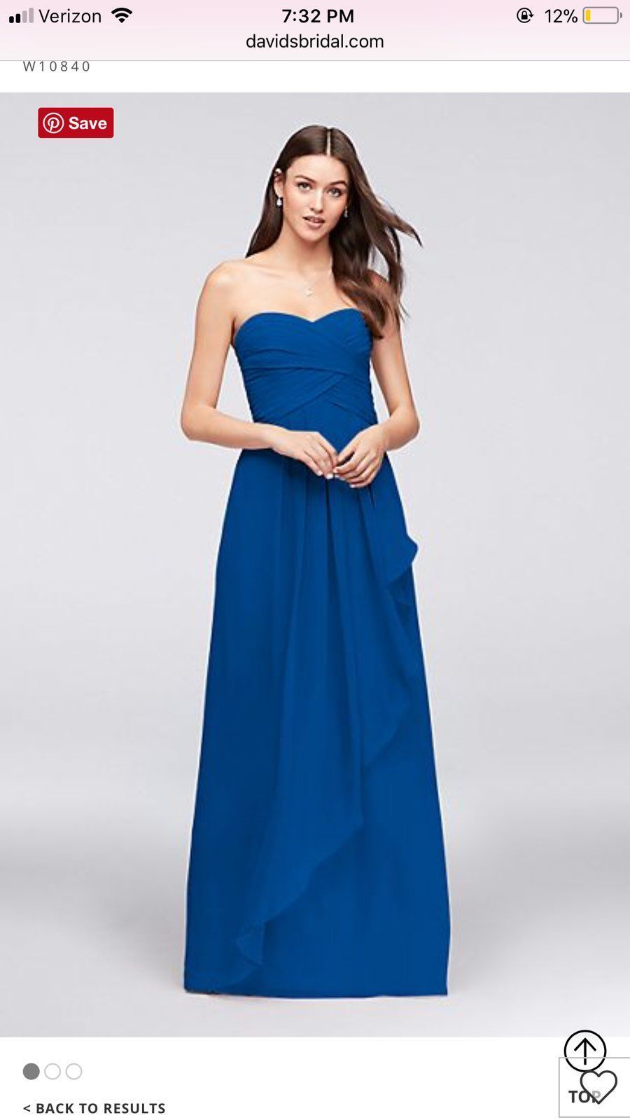 Blue davids bridal bridesmaid dress mercari buy sell things blue davids bridal bridesmaid dress ombrellifo Choice Image