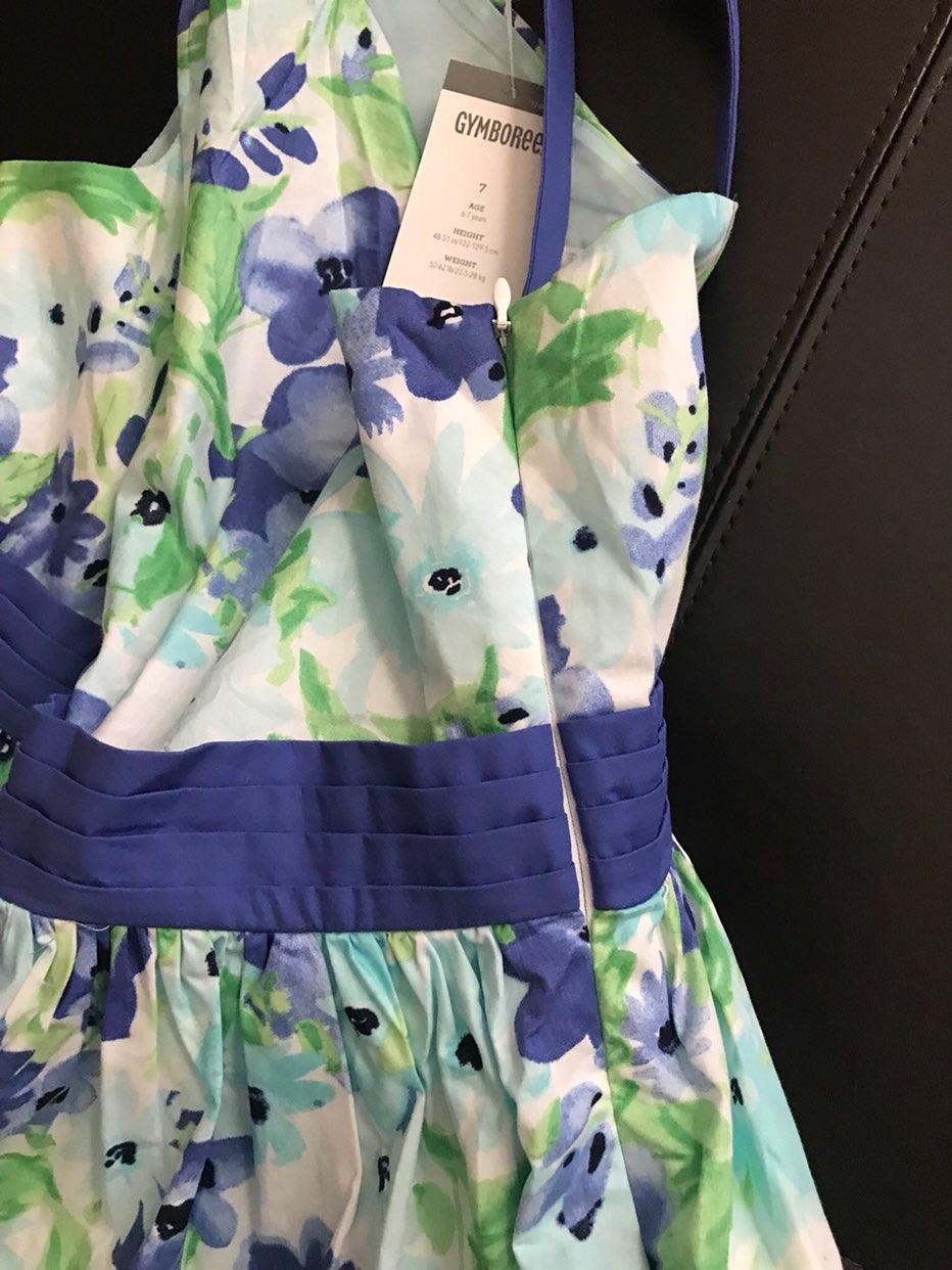 Gymboree Easter Dress Size 7