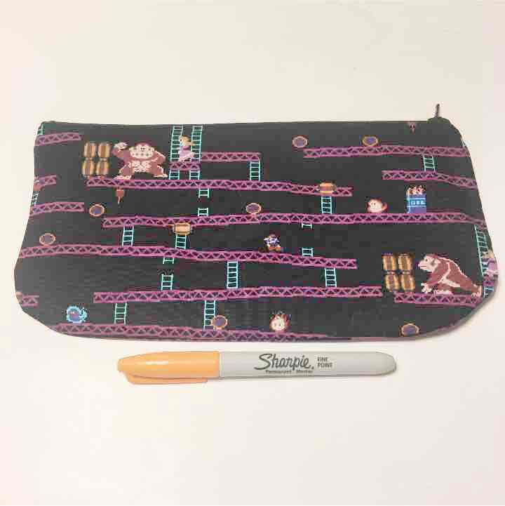 Donkey Kong and Mario Pencil Pouch