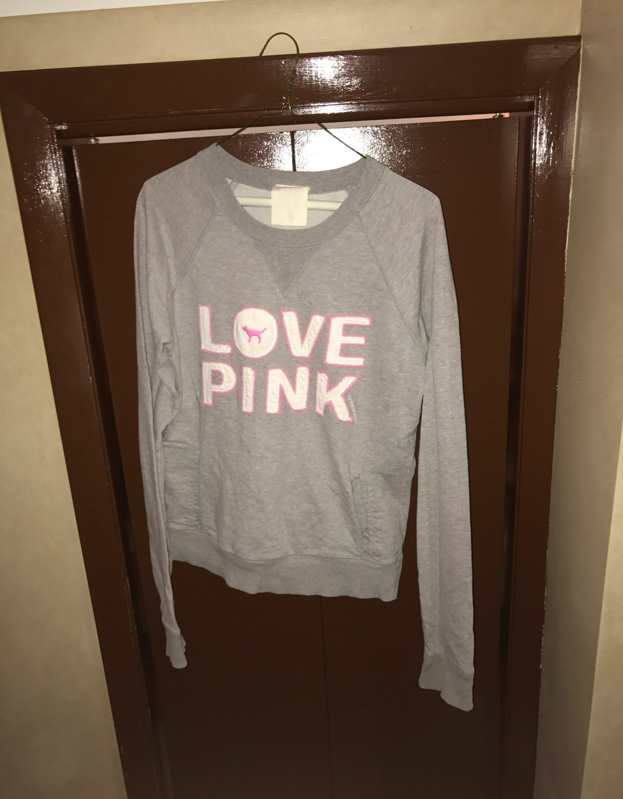 Vintage VS Pink Crew neck Sweater - Mercari: BUY & SELL THINGS YOU ...