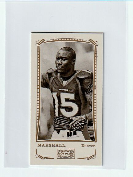 Brandon Marshall 4-Card Lot