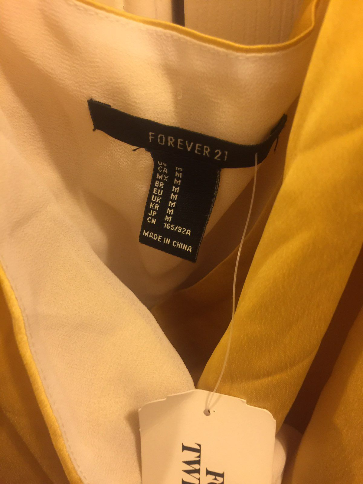 b612e290239 Forever21 silk yellow jumpsuit Forever21 silk yellow jumpsuit. SOLD