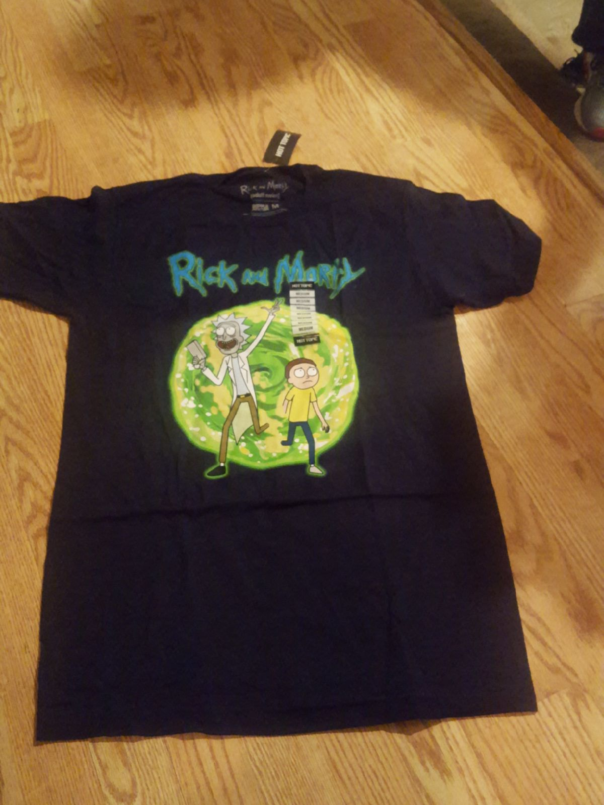 Rick and Morty tee...medium