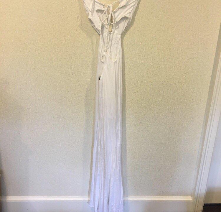 Nwt Sky White Maxi Dress