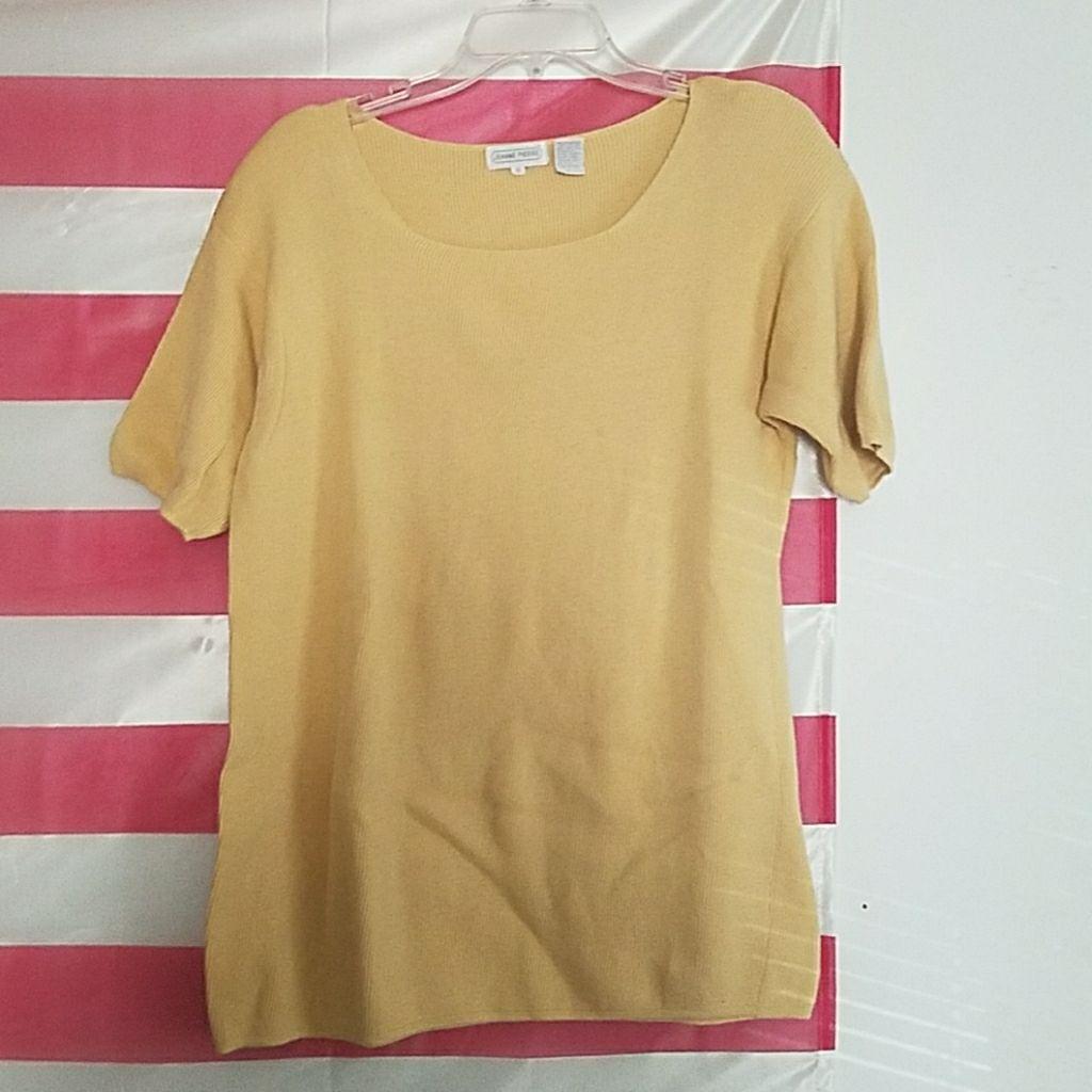 Beautiful pale yellow sweater top - Mercari: BUY & SELL THINGS YOU ...