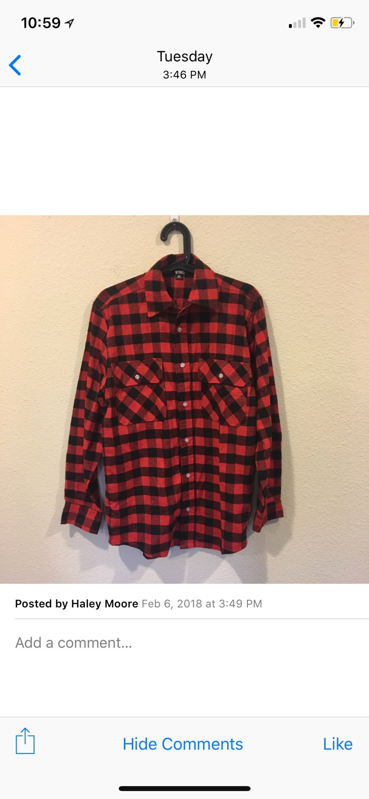 Beyoncé Flawless Buffalo Plaid Flannel