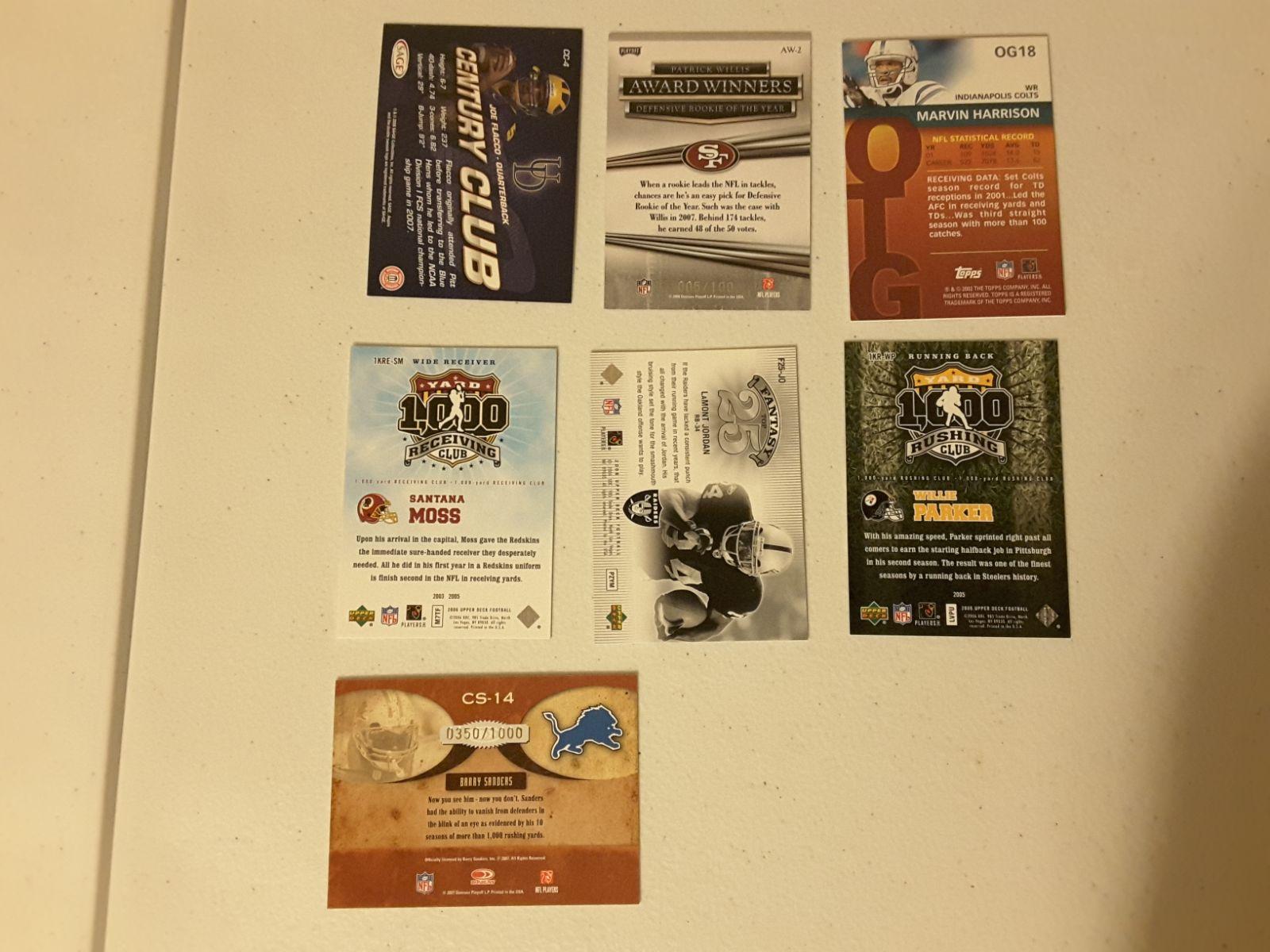 Various NFL Card Lot