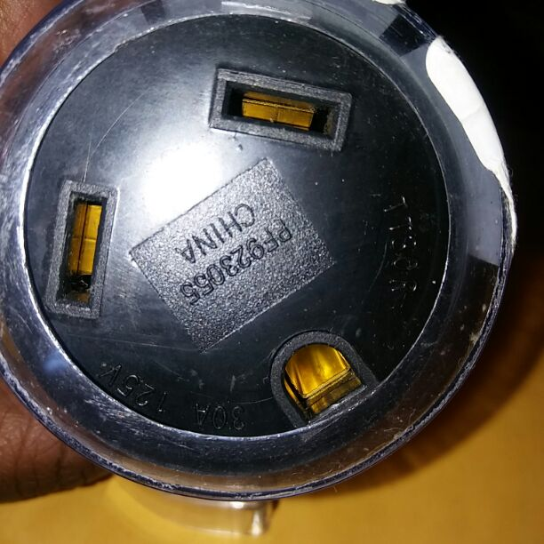 30 AMP to 30 AMP RV outlet adapter