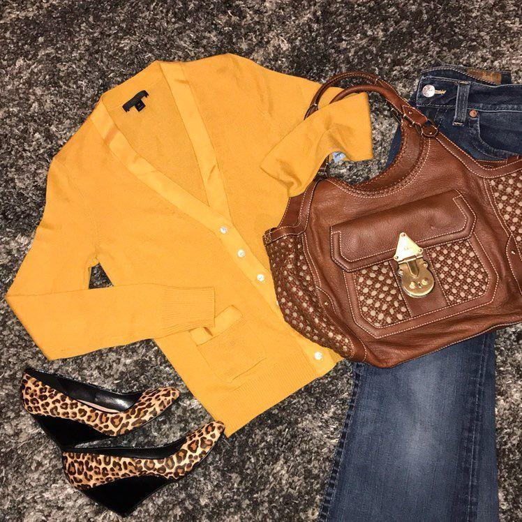 J. Crew Yellow Cardigan Sz XS - Mercari: BUY & SELL THINGS YOU LOVE