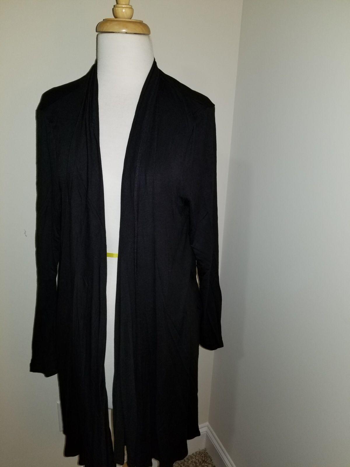 solid black cardigan - Mercari: BUY & SELL THINGS YOU LOVE