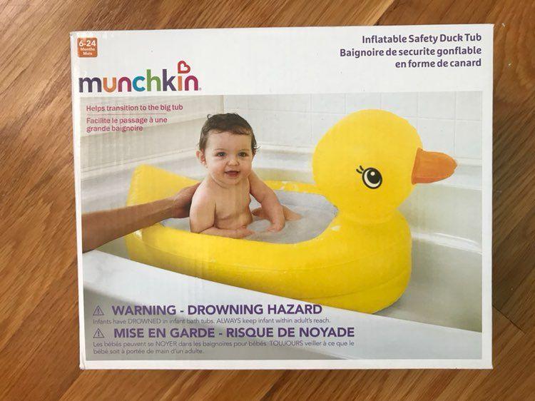 Munchkin Duck Baby Tub New