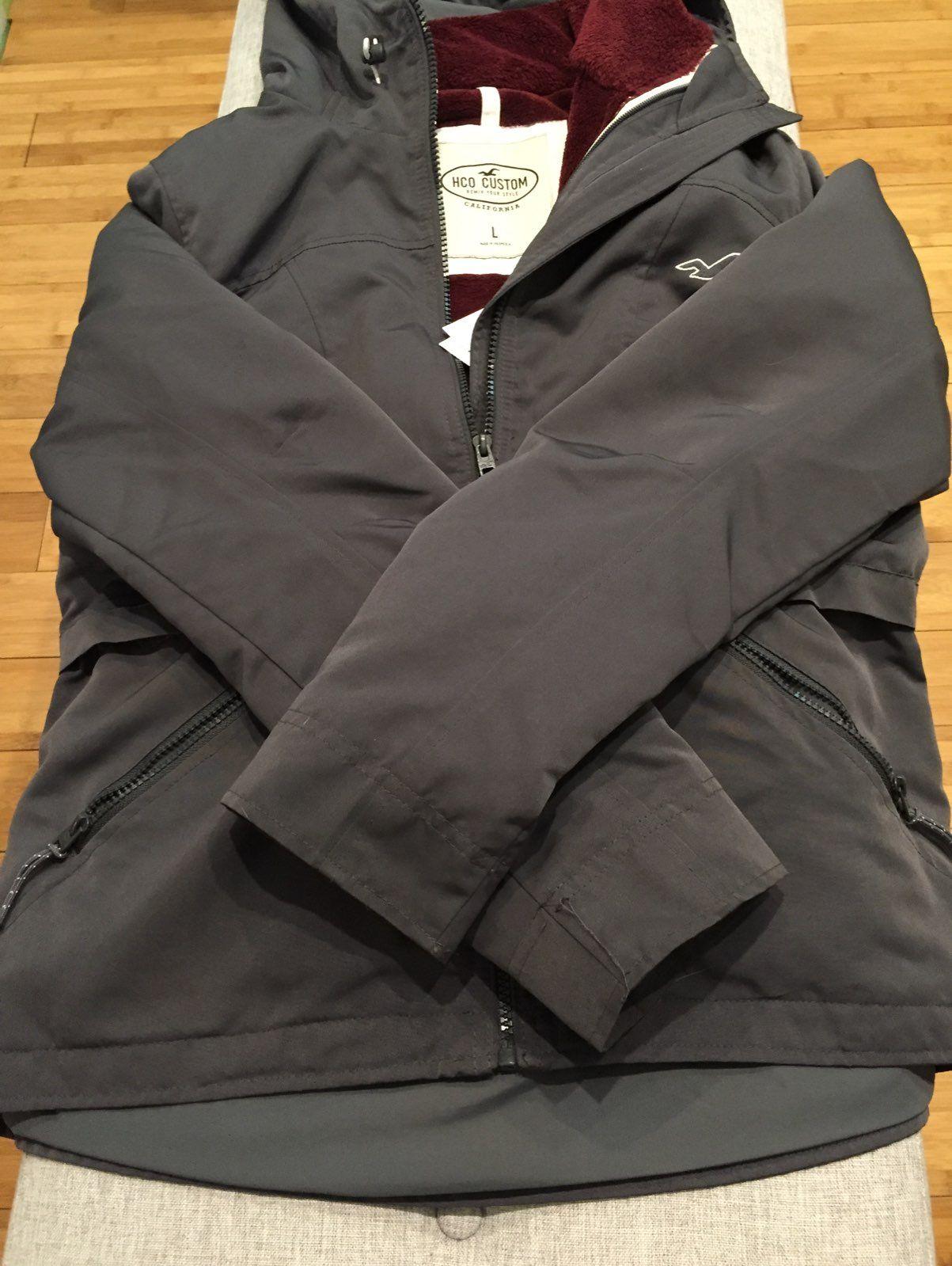 hollister california jacket
