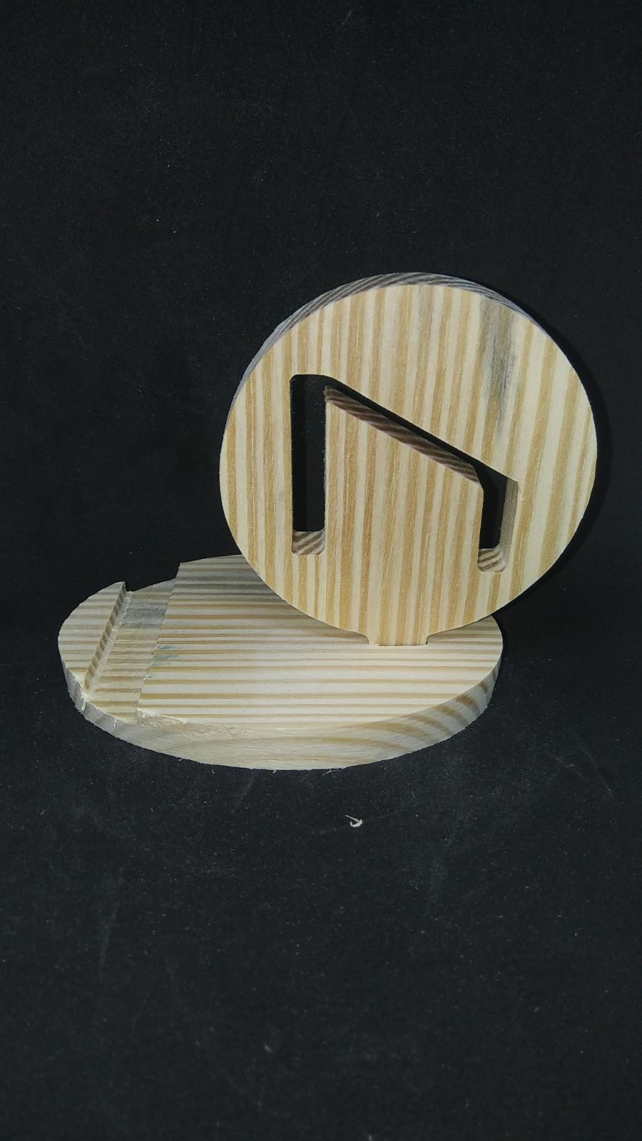 Wood Phone Stand - Strength
