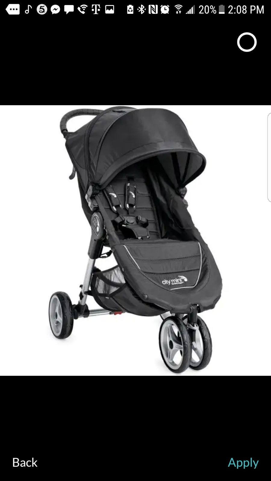 Baby Jogger City Mini Single Stroll