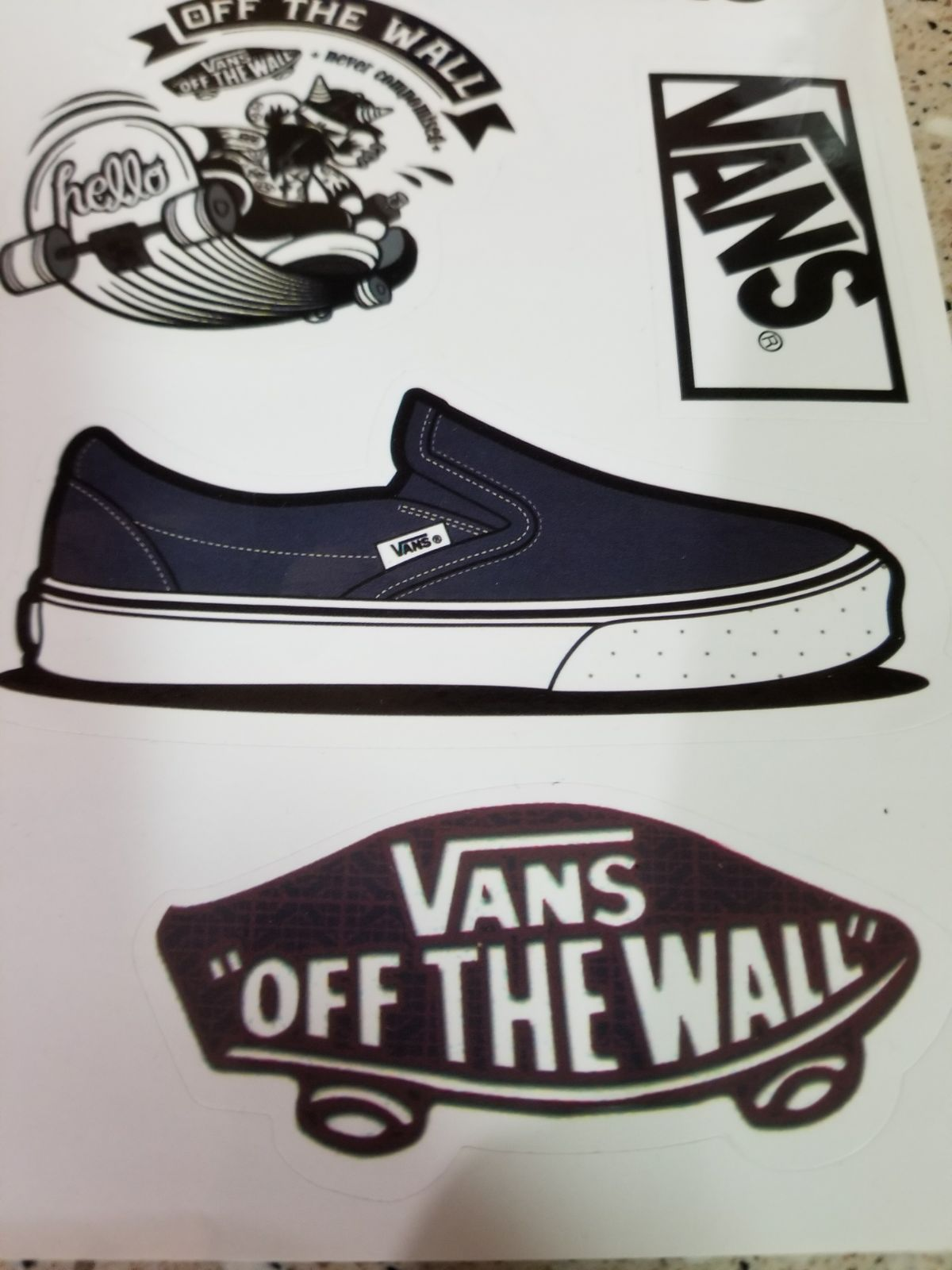 Vans sticker pack mercari buy sell things you love vans sticker pack amipublicfo Choice Image