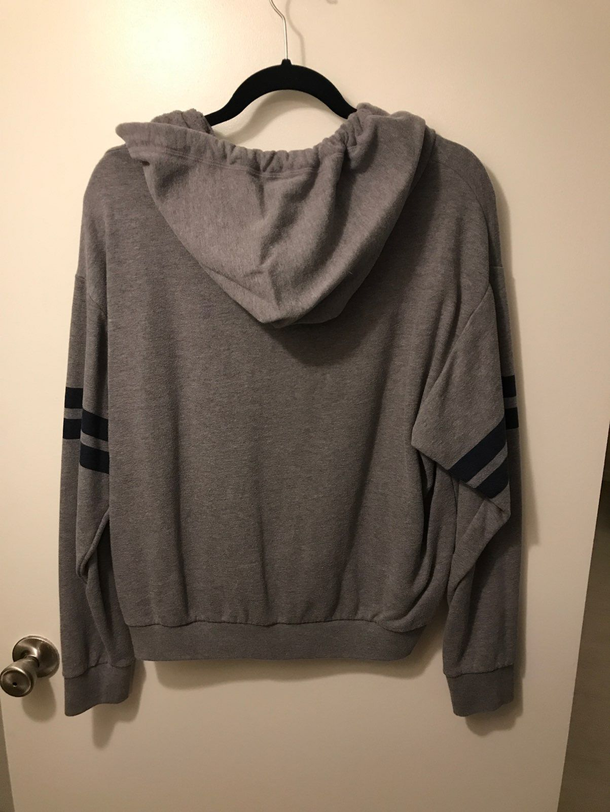Grey And Dark Blue PINK Sweater - Mercari: BUY & SELL THINGS YOU LOVE