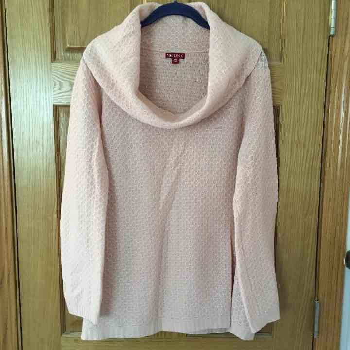 Lightweight cowl neck sweater - Mercari: BUY & SELL THINGS YOU LOVE